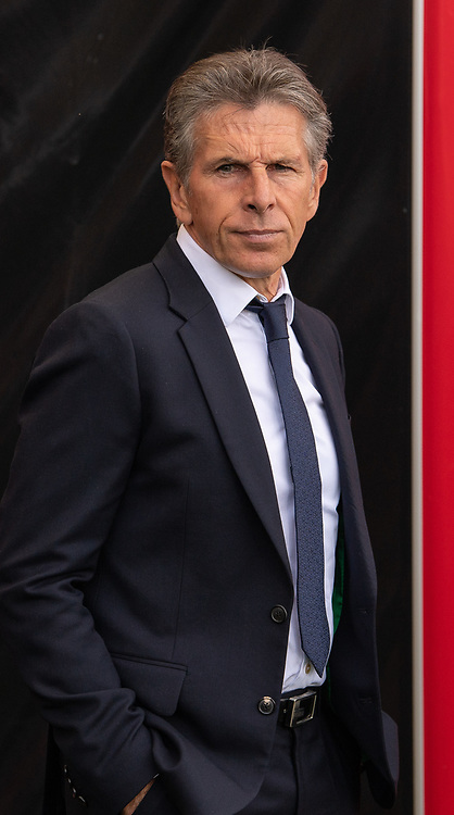 Leicester City manager Claude Puel <br /> <br /> Photographer David Horton/CameraSport<br /> <br /> The Premier League - Bournemouth v Leicester City - Saturday 15th September 2018 - Vitality Stadium - Bournemouth<br /> <br /> World Copyright © 2018 CameraSport. All rights reserved. 43 Linden Ave. Countesthorpe. Leicester. England. LE8 5PG - Tel: +44 (0) 116 277 4147 - admin@camerasport.com - www.camerasport.com