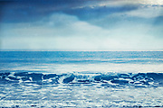 Wave crashing on beach on the French Atlantic coast<br /> Redbubble --> https://rdbl.co/2r1kXP0