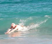 **EXCLUSIVE**.Steve Martin at Salines Beach.St. Barth, Caribbean.Sunday, January, 11, 2003.Photo By Celebrityvibe.com/Photovibe.com...
