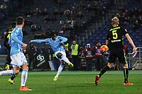 Gol Keita Balde Lazio Goal celebration 4-2 <br /> Roma 11-02-2016 Stadio Olimpico, Football Calcio 2015/2016 Serie A. Lazio - Hellas Verona . Foto Andrea Staccioli / Insidefoto