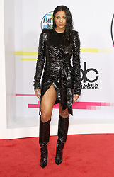 The 2017 American Music Awards at The Microsoft Theatre in Los Angeles, California on 11/19/17. 19 Nov 2017 Pictured: Ciara. Photo credit: River / MEGA TheMegaAgency.com +1 888 505 6342