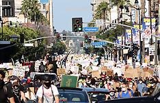 Black Lives Matter Protests LA - 7 June 2020