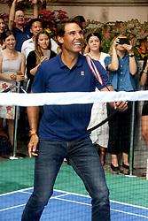 August 23, 2018 - New York City, New York, U.S. - Tennis player RAFAEL NADAL attends the .2018 Lotte Palace Invitational Badminton Tournament held at the Lotte New York Palace. (Credit Image: © Nancy Kaszerman via ZUMA Wire)