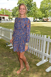ELLIE SYKES at the Flannels For Heroes cricket competition in association with Dockers held at Burton Court, Chelsea, London on 19th June 2015