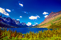 Wild Goose Island, Saint Mary Lake, Glacier National Park, USA