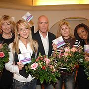 "NLD/Huizen/20061206 - Presentatie Unicef CD "" Women Only - Unite for Childeren "", Willeke Alberti, Chantal Janzen, Ferdi Bolland, Maud Mulder en Raffaela"