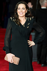 © Licensed to London News Pictures. 02/11/2017. London, UK. OLIVIA COLMAN attends the world film premiere of Murder On The Orient Express. Photo credit: Ray Tang/LNP