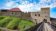 Dobczyce, 2020-05-09. Ruiny sredniowiecznego zamku krolewskiego w Dobczycach.