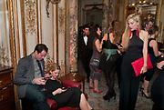 JOANNA HILLMAN, Glenda Bailey's Bazaar Greatest Hits book party. Savile Club. Brook St. London. 18 September 2011. <br /> <br />  , -DO NOT ARCHIVE-© Copyright Photograph by Dafydd Jones. 248 Clapham Rd. London SW9 0PZ. Tel 0207 820 0771. www.dafjones.com.