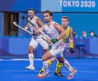 TOKIO - Loick Luypaert (Bel)  tijdens de hockey finale mannen, Australie-Belgie (1-1), België wint shoot outs en is Olympisch Kampioen,  in het Oi HockeyStadion,   tijdens de Olympische Spelen van Tokio 2020. COPYRIGHT KOEN SUYK