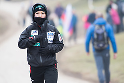 February 8, 2019 - Sara Takanashi of Japan warming up before first competition day of the FIS Ski Jumping World Cup Ladies Ljubno on February 8, 2019 in Ljubno, Slovenia. (Credit Image: © Rok Rakun/Pacific Press via ZUMA Wire)