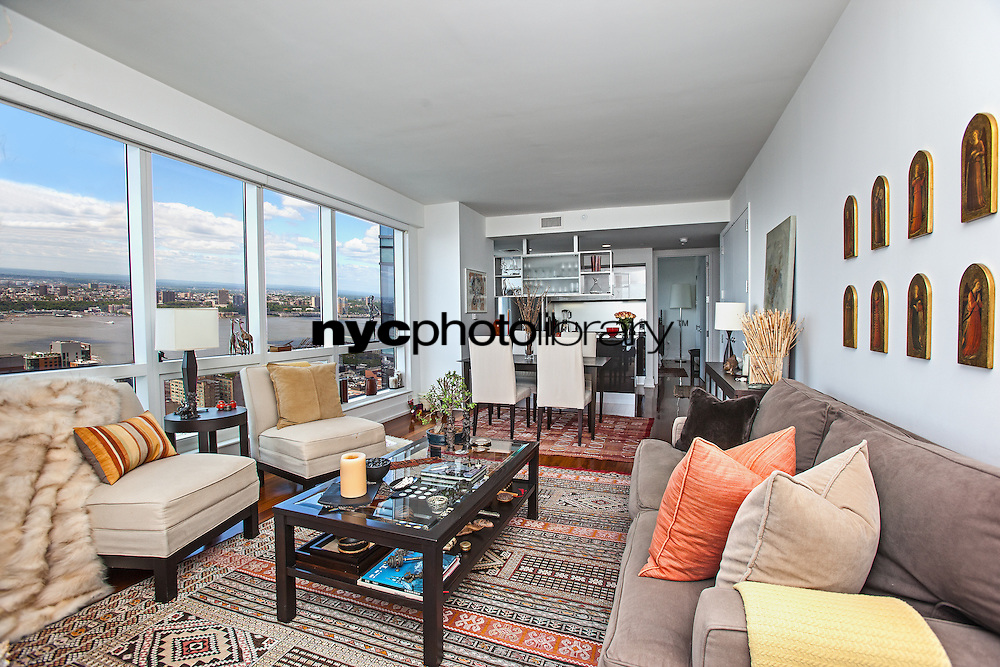 Living Room at 350 West 42nd Street
