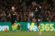 Yaya Toure of Manchester City has a shot .Premier League match, Crystal Palace v Manchester city at Selhurst Park in London on Saturday 19th November 2016. pic by John Patrick Fletcher, Andrew Orchard sports photography.