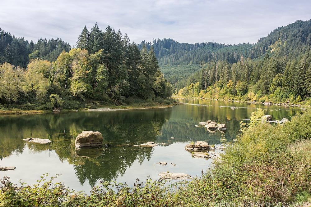 Oregon HWY 38, Umpqua River
