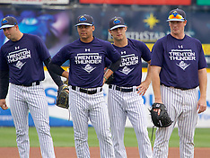 Trenton Thunder vs. New Hampshire Fisher Cats 17 April 2017