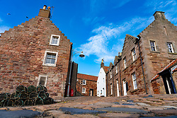 Historic village and harbour of Crail in East Neuk of Fife, Scotland UK