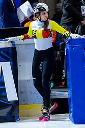 12-01-2019 NED: ISU European Short Track Championships 2019 day 2, Dordrecht<br /> Hanne Desmet #17 BEL