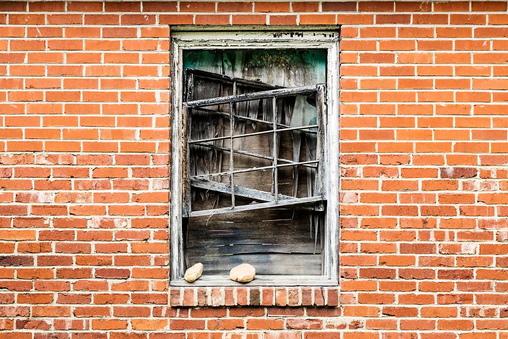 Window and Brick Wall