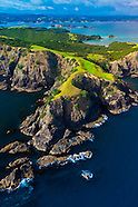 New Zealand-Bay of Islands-Aerial Views
