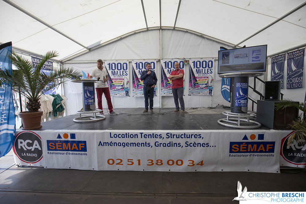 Présentation des Skippers - Foire expo