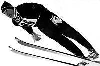 Hopp<br /> Foto: imago/Digitalsport<br /> NORWAY ONLY<br /> <br /> 04.01.1970  <br /> Doppelweltmeister Bjørn Wirkola (Norge) gewann mit 248,5 Punkten und Sprüngen von 98 m und 92,5m das dritte Springen der Vierschanzentournee