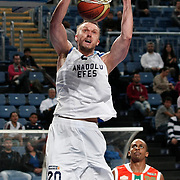 Anadolu Efes's Dusko SAVANOVIC during their Turkish Basketball League match Anadolu Efes between Banvit at Arena in Istanbul, Turkey, Sunday, November 06, 2011. Photo by TURKPIX