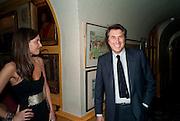 AMANDA SHEPPARD; BRYAN FERRY, BRIONI FRAGRANCE LAUNCH. Annabels. Berkeley Sq. London. 14 October 2009.