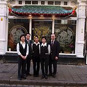 Chinees restaurant Kee Lun Palace Wagenstraat 95 Den Haag met personeel