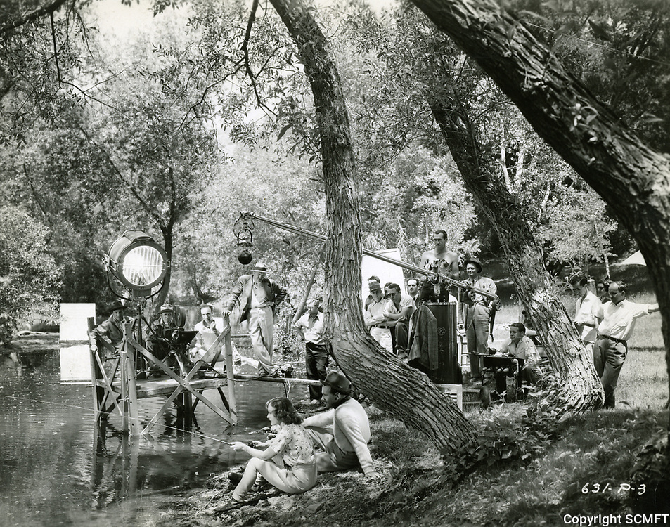 1938 On location filming