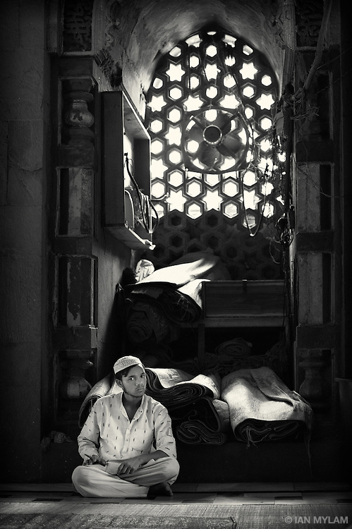 The Mosque at Nizamuddin - Old Delhi, India