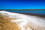 Soda Lake and the Temblor Range, Carrizo Plain National Monument, California USA