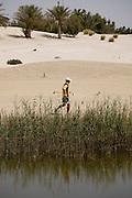 Abu Dhabi, United Arab Emirates (UAE). .March 20th 2009..Al Ghazal Golf Club..36th Abu Dhabi Men's Open Championship..Inki Kim