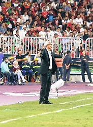 October 8, 2017 - Alexandria, Egypt - Head coach of Egypt Hector Cuper looks on during the 2018 World Cup Africa Qualifying match between Egypt and Congo at the Borg el-Arab Stadium in Alexandria, Egypt on October 8, 2017. Egypt won 2-1. (Credit Image: © Islam Safwat/NurPhoto via ZUMA Press)