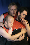 Comedy group We Are Klang pictured at a press call for the nominees for the 2006 Intelligent Finance Comedy Awards in Edinburgh. The award for Best Comedy Show was due to be announced on 26th August. The nominees all staged comedy shows at the 2006 Edinburgh Festival Fringe and this award replaced the long-running Perrier comedy award in 2006.