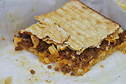 Kosher Matzo Sandwich fit for eating during the week of Pesach / Passover