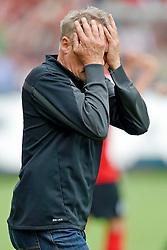 Football: Germany, 1. Bundesliga, SC Freiburg - FC Bayern Muenchen, Freiburg - 16.05.2015,<br /> Trainer Christian Streich (Freiburg) celebrates the goal to 2:1<br /> <br /> © pixathlon<br /> <br /> +++ NED out !!! +++