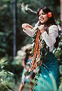 Polynesian woman, Hawaii