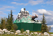 Haines Junction, Alaska, sculpture,