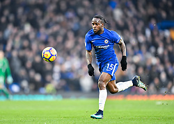 January 13, 2018 - London, England, United Kingdom - Chelsea's Victor Moses..during the Premier League match between Chelsea and Leicester City at Stamford Bridge, London, England on 13 Jan t 2018. (Credit Image: © Kieran Galvin/NurPhoto via ZUMA Press)