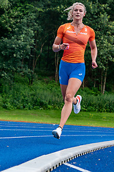 Lieke Klaver in action during the Press presentation of the olympic team Athletics on July 8, 2021 in Papendal Arnhem