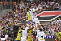 Alexandre FLANQUART  - 13.06.2015 - Clermont / Stade Francais - Finale Top 14<br />Photo : Nolwenn Le Gouic / Icon Sport