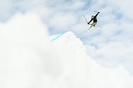 Mathilde Gremaud during Men's Ski Slopestyle Practice at 2021 X Games Aspen in Aspen, CO. ©Brett Wilhelm/ESPN