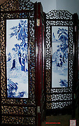 Carved Rosewood screen