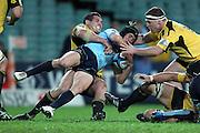 Berrick Barnes. Waratahs v Hurricanes. 2012 Super Rugby round 15 match. Allianz Stadium, Sydney Australia on Saturday 2 June 2012. Photo: Clay Cross / photosport.co.nz