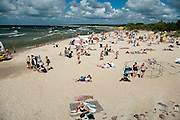 View of Palanga, Lithuania and it's famous pier