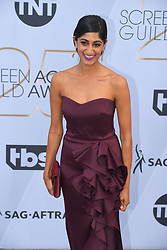 January 27, 2019 - Los Angeles, California, U.S - KEIDRICH SELLATI during silver carpet arrivals for the 25th Annual Screen Actors Guild Awards, held at The Shrine Expo Hall. (Credit Image: © Kevin Sullivan via ZUMA Wire)