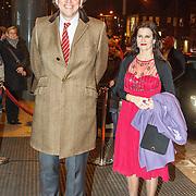 NLD/Amsterdam/20150320 - Koning Willem - Alexander en Koningin Maxima bij afscheidsconcert dirigent Mariss Jansons Concertgebouw Amsterdam, politicus Bert Koenders en ..............