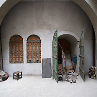 VENICE, ITALY - JUNE 07:  A general view of the courtyard of the British Pavillion at the Venice Biennale, which has this year been transformed into a Turkish caravanserai by artist Mike Nelson on June 7, 2011 in Venice, Italy. This year's Biennale is the 54th edition and will run until 27 November.
