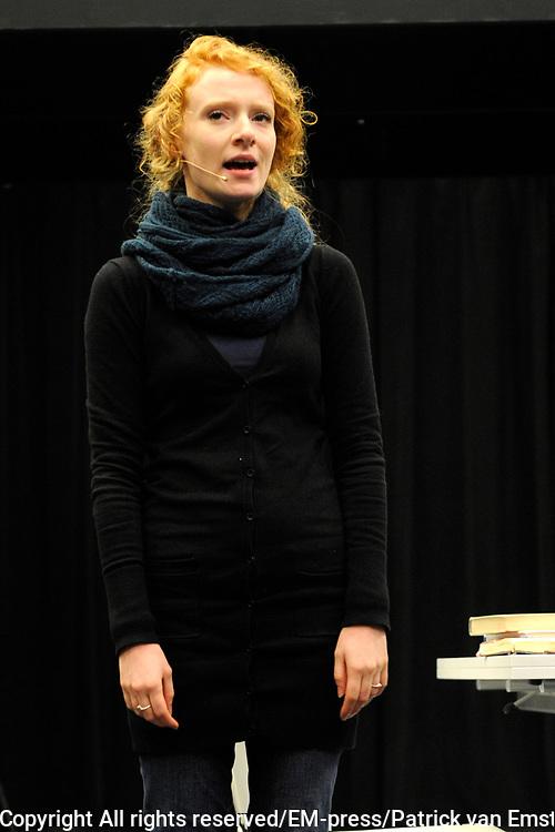 Perspresentatie Next to Normal - de musical in de Dutch Studio's Amsterdam.<br /> <br /> Op de foto:  Michelle van de Ven