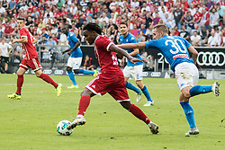 August 2, 2017 - Munich, Germany - Rog Marko of Napoli vies Sanches Renato of  Bayer Monaco during the Audi Cup 2017 match between SSC Napoli v FC Bayern Muenchen at Allianz Arena on August 2, 2017 in Munich, Germany. (Photo by Paolo Manzo/NurPhoto) (Credit Image: © Paolo Manzo/NurPhoto via ZUMA Press)